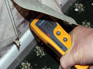 damp proofing measuring